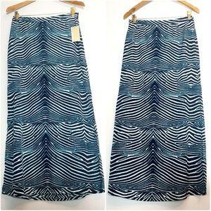 NWT Michael Kors Maxi Skirt Sz 2